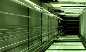 Vano scale rinnovato per ammodernamento ascensori   GP ELEVATORI